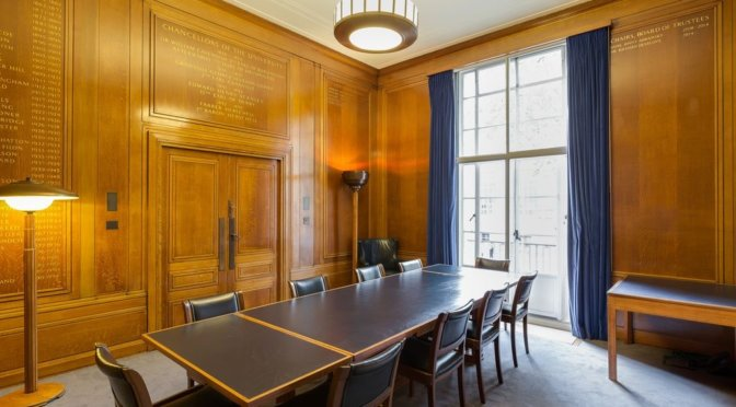Great Room Hire Rates at Senate House