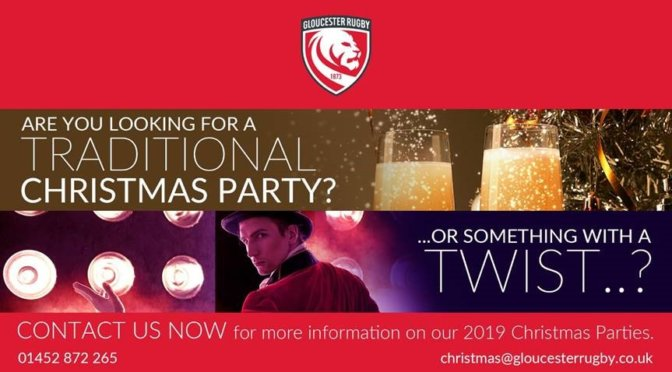 Christmas at Gloucester Rugby Club