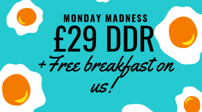 NTU Events and Conferencing – Monday madness offer