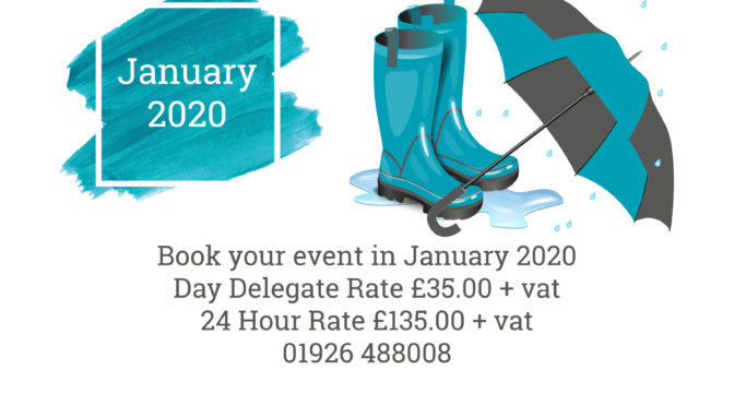Jump into January with Ashorne Hill